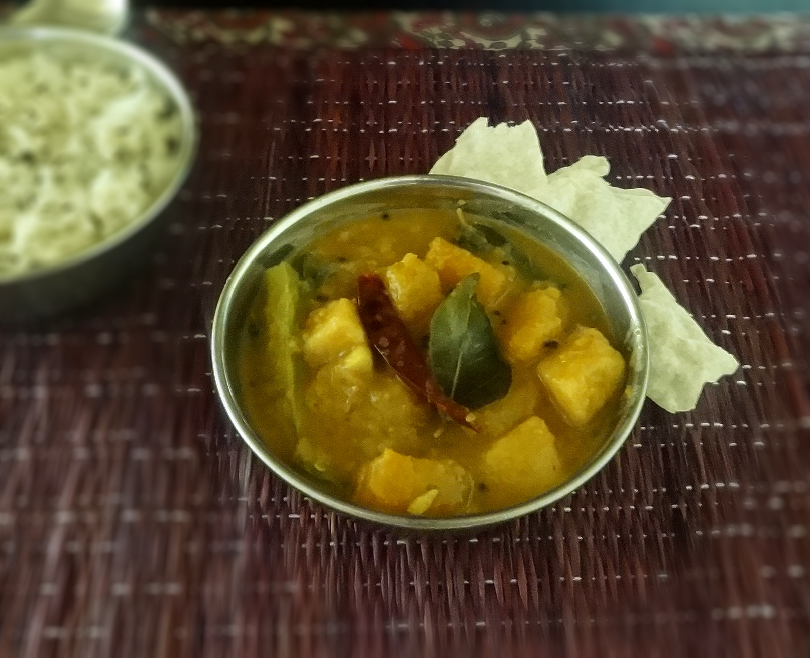 vegetables sambar recipe step by step