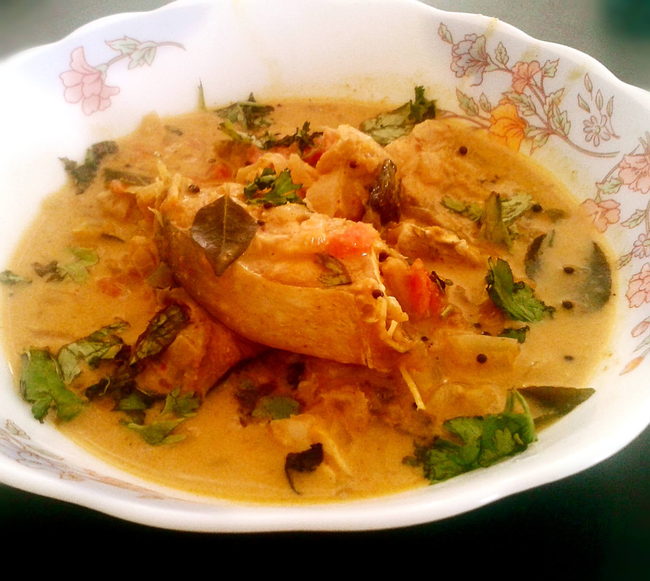 Coconut Rawas Curry Recipe Indian Salmon In Gravy