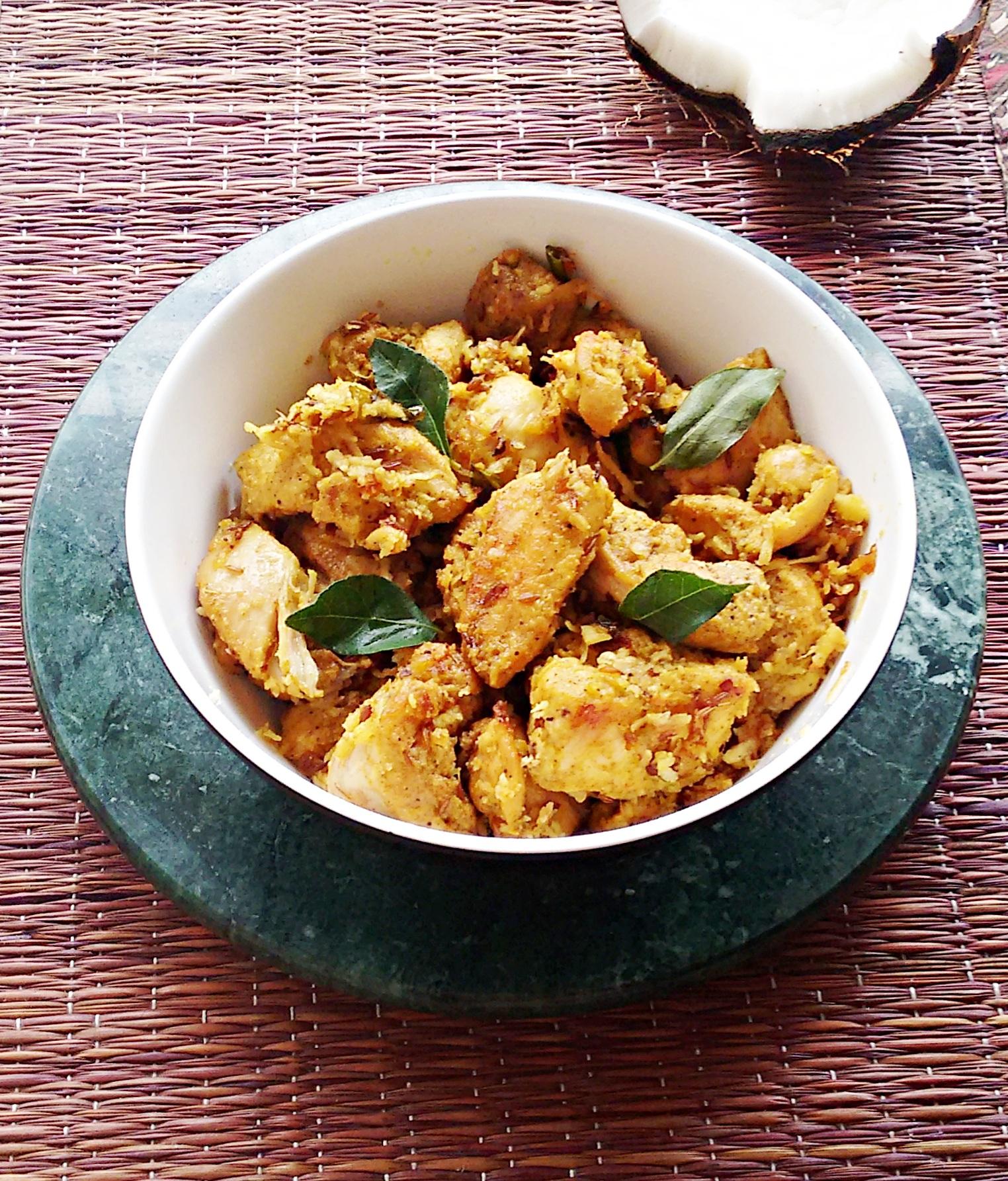 Chicken roast with coconut recipe chicken roast kerala style my chicken roast with coconut recipe forumfinder Images