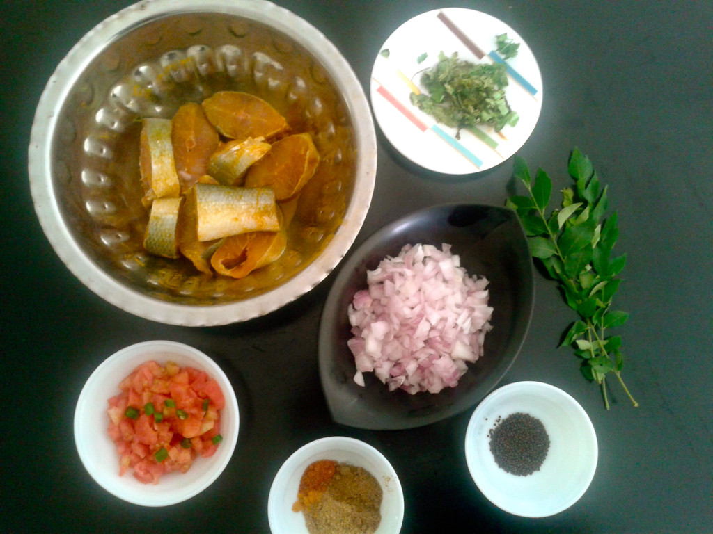 coconut rawas curry ingredients