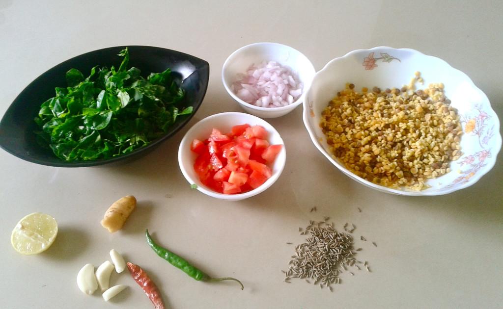 methi dal ingredients