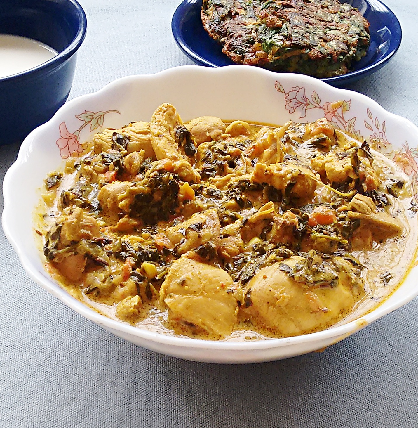 murgh methi recipe - chicken curry with fenugreek leaves