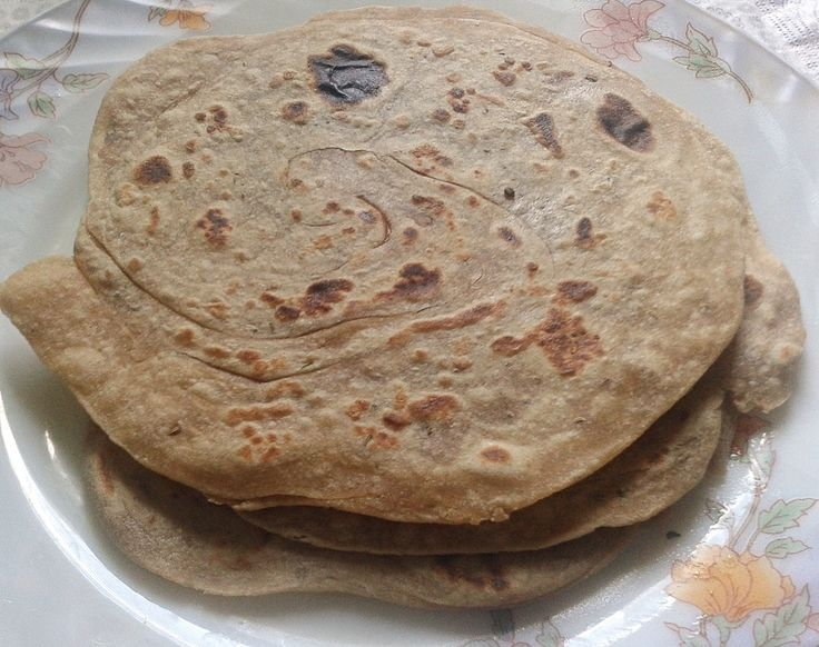 Ajwain Lachha Paratha Recipe - Layered Flatbread with ...