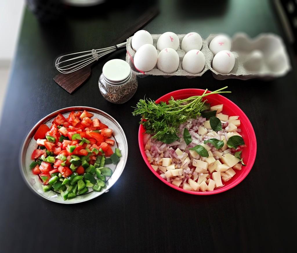 egg bhurji ingredients