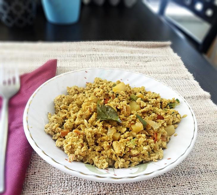 Egg Bhurji Recipe (Anda Burji Recipe) – Indian scrambled eggs recipe