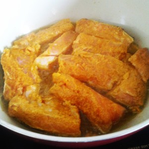 fried fish masala