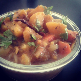 Sweet Potato and Pumpkin Curry Recipe – Kids Friendly Recipe