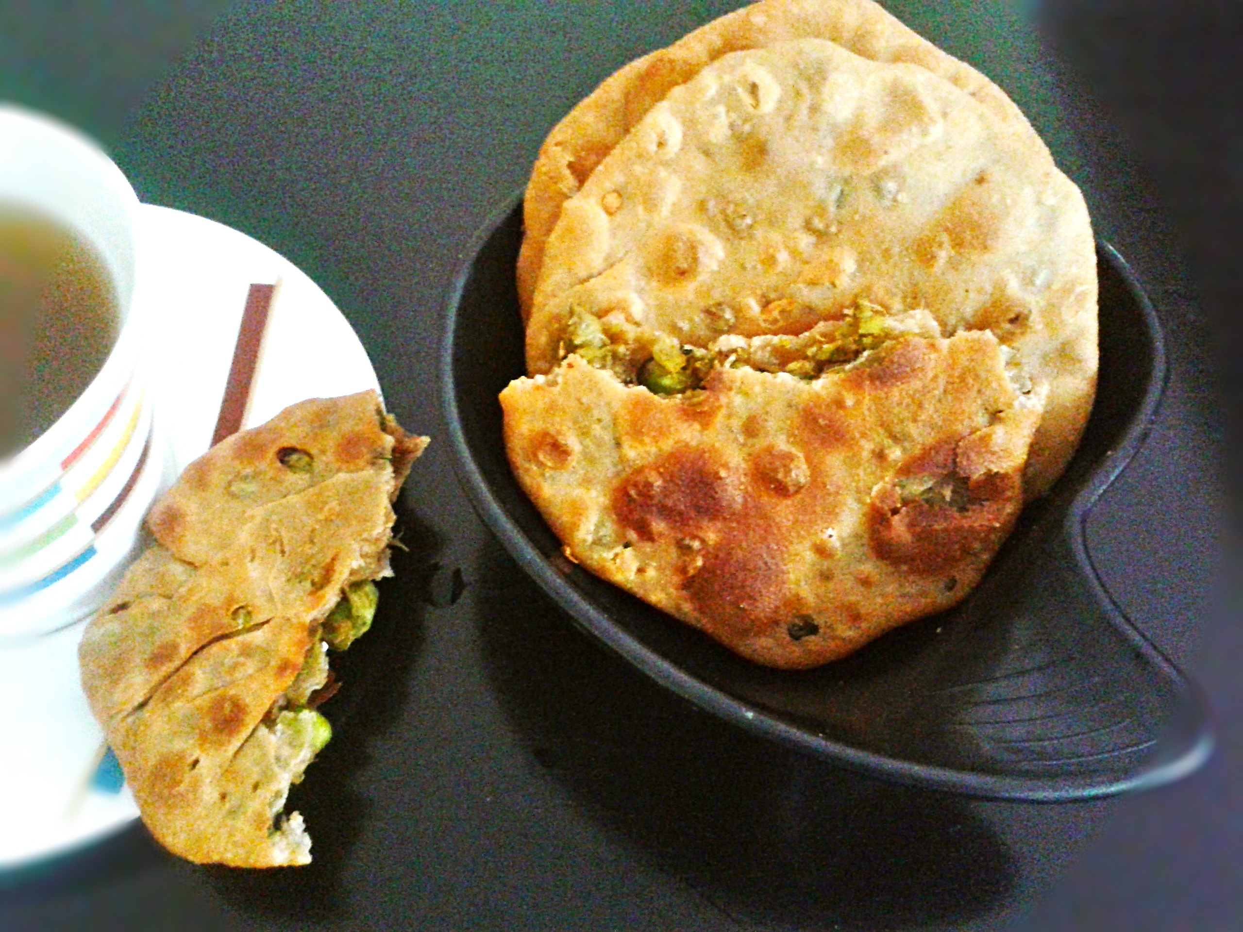 Matar kachori recipe indian pastry filled with spiced green peas forumfinder Image collections