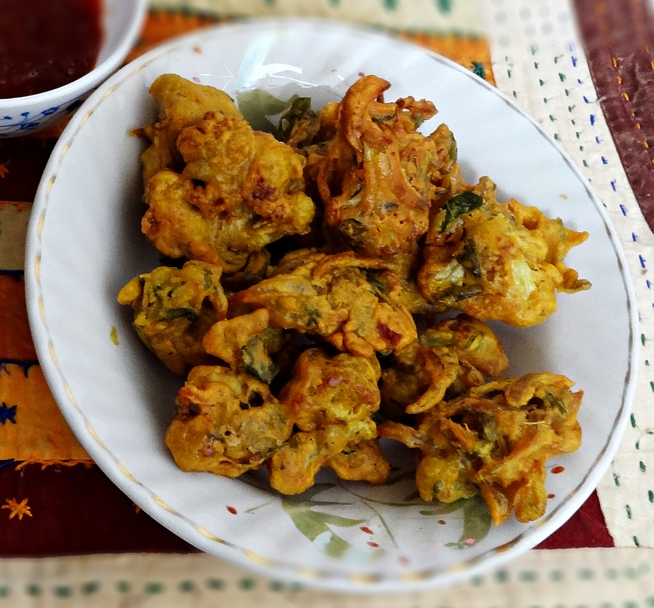 Indian Food Deep Fried Cauliflower