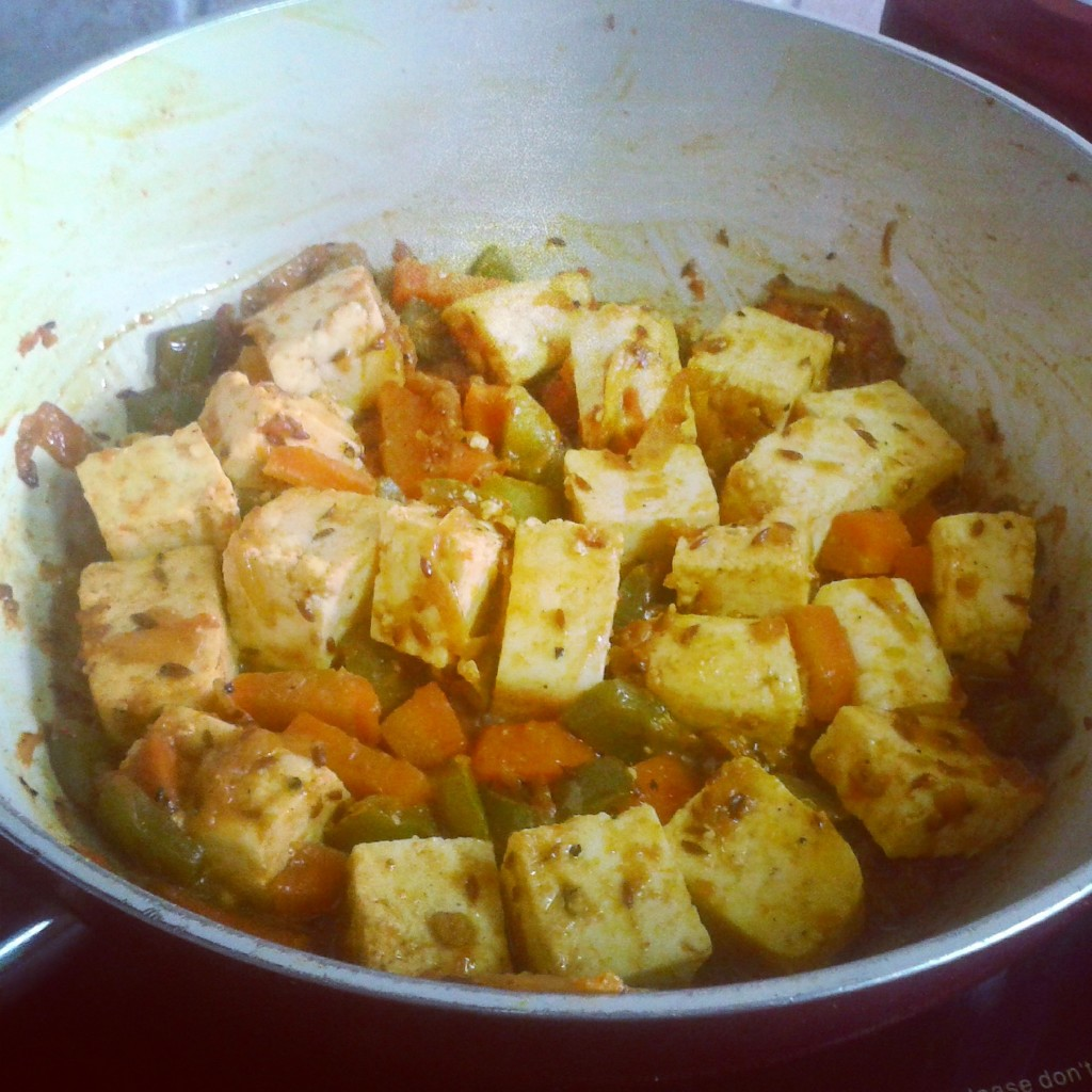 paneer jalfrezi step by step 4