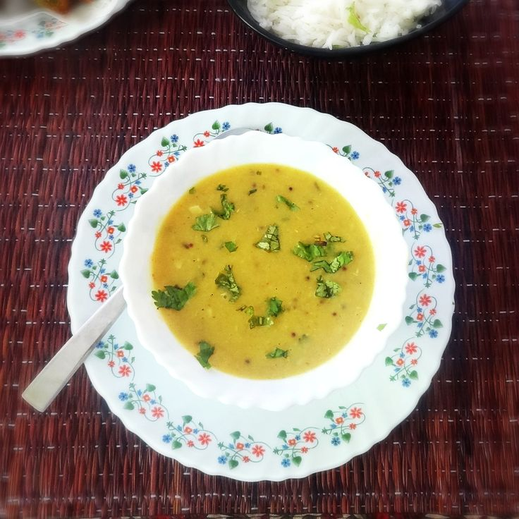 lasooni dal recipe - lentils with garlic soup