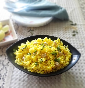 lemon-rice-recipe step by step how to make lemon rice