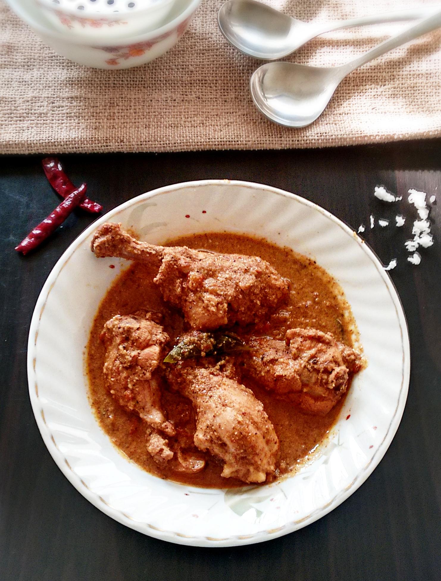 Goan coconut chicken curry recipe my indian taste goan chicken coconut curry forumfinder Choice Image