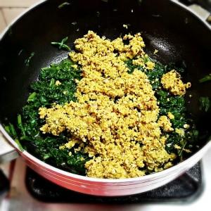 kerala spinach thoran cheera thoran recipe