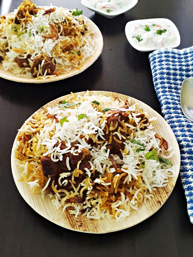 Mutton biryani recipe gosht biryani my indian taste mutton biryani recipe gosht biryani forumfinder Images