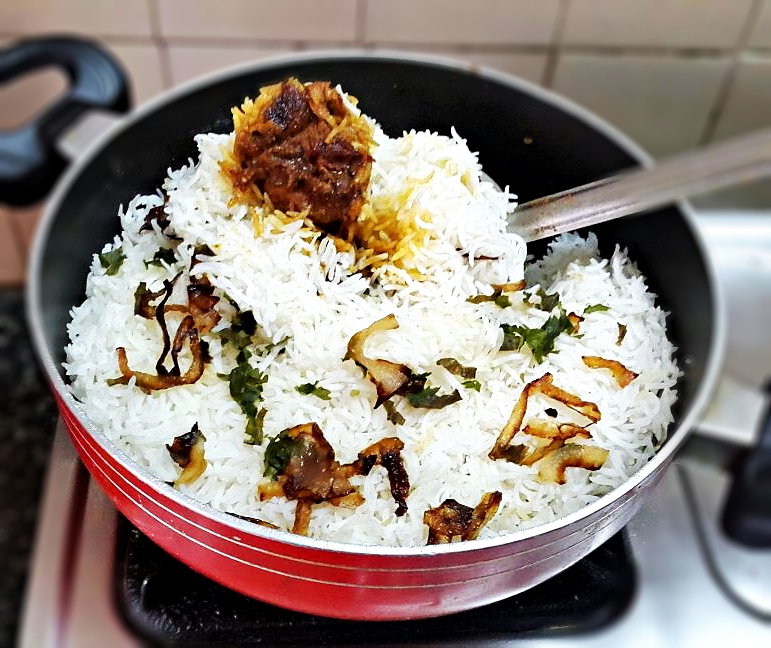 mutton biryani recipe step by step how to make mutton biryani