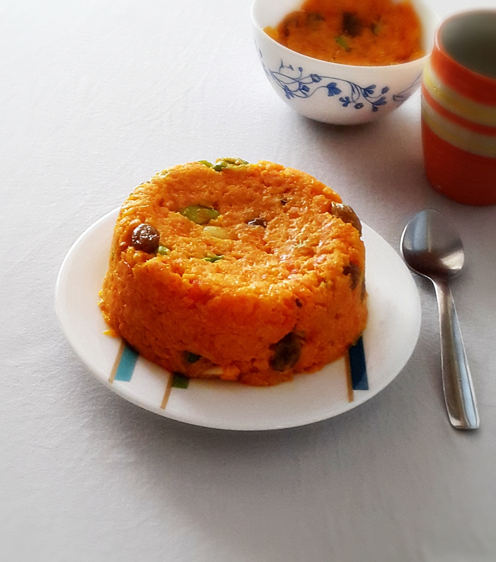 carrot halwa recipe - gajar halwa