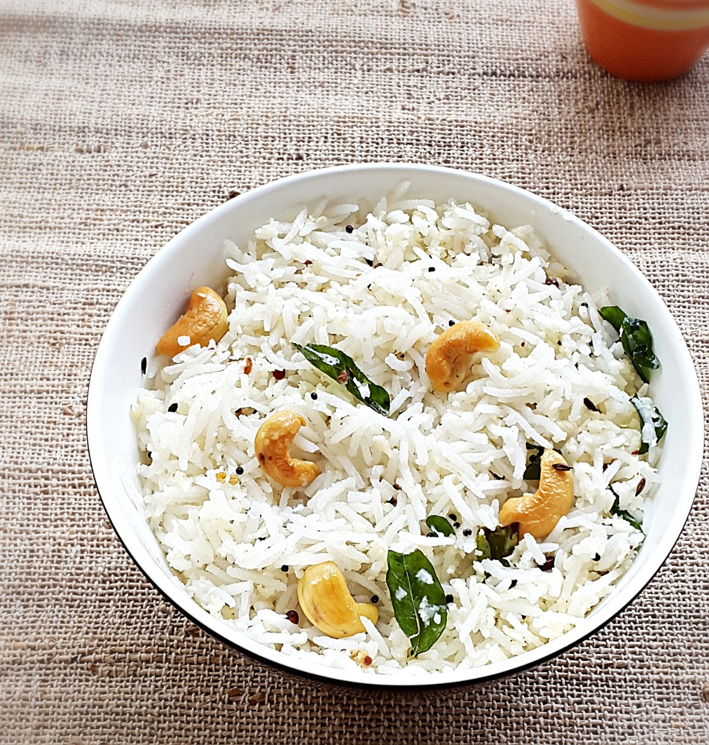 easy Indian coconut rice recipe