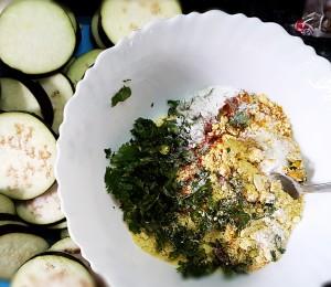 eggplant brinjal pakoras pakoda recipe