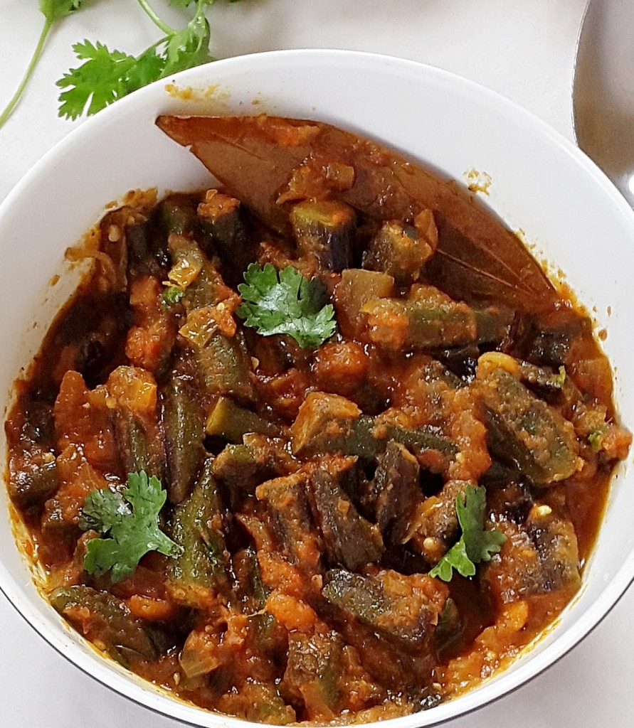 Bhindi masala gravy recipe how to make bhindi masala gravy (fried okra in spicy tomato sauce)