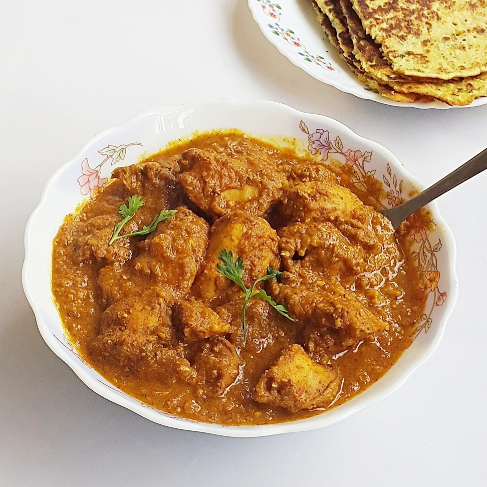 almond chicken korma