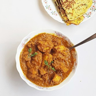chicken almond korma recipe