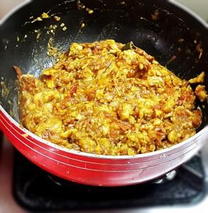 Baingan bharta recipe - Smoky spiced mashed eggplant - My Indian Taste