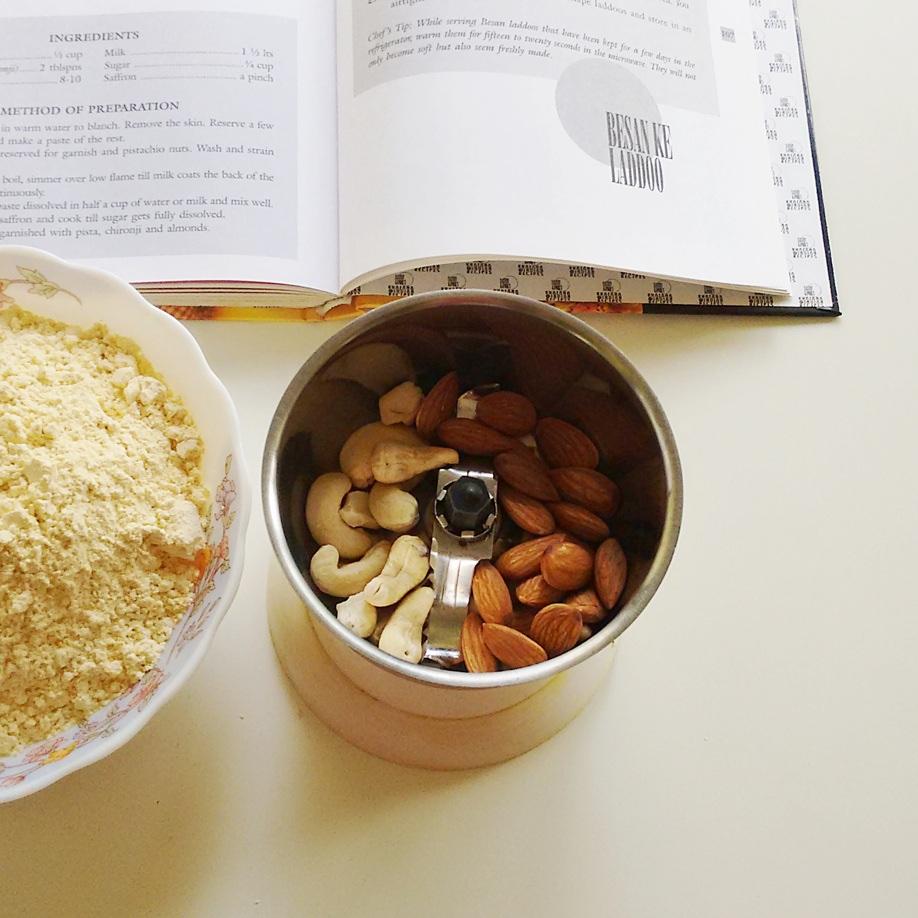 besan ladoo recipe chickpea flour balls