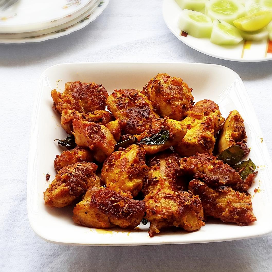 Chicken 65 Recipe Indian Spicy Deep Fried Chicken My