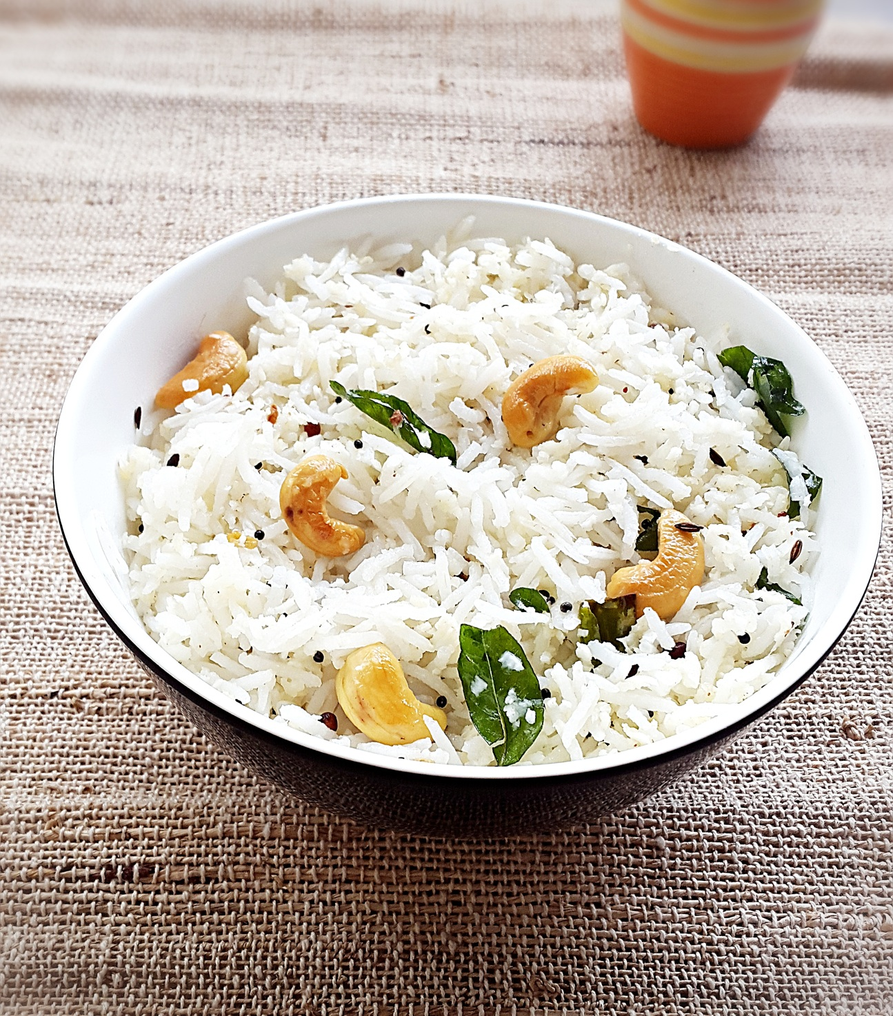 Coconut Rice Recipe How To Make Easy Indian Coconut Rice My Indian Taste